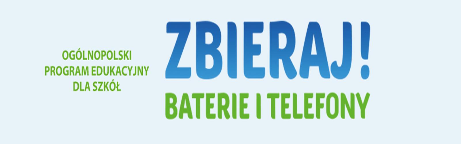 """Grafika akcji """"Zbieraj! Baterie i telefony"""""""
