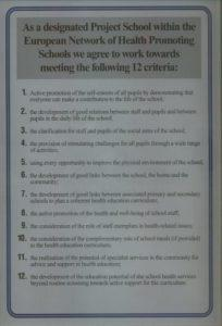 Certyfikat uczestnictwa w projekcie.
