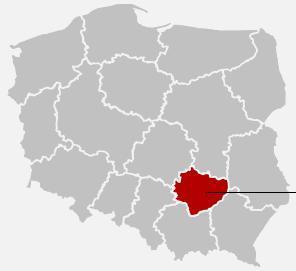 Lokalizacja Ostrowca Świętokrzyskiego na mapie Polski