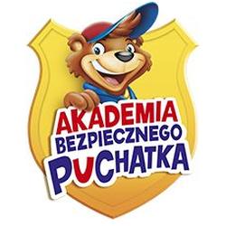 Logo projektu - Akademia bezpiecznego Puchatka