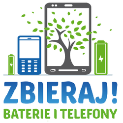 Logo akcji - Zbieraj baterie i telefony