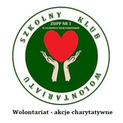 Logo Szkolnego Klubu Wolontariatu