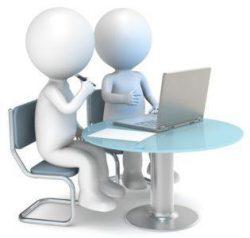 Ludziki praca przy komputerze