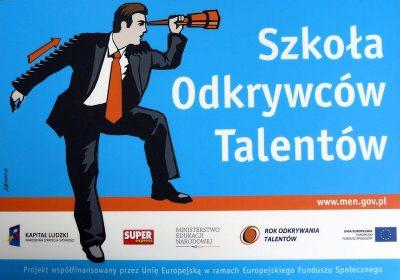 Logo Szkoły Okrywców Talentów